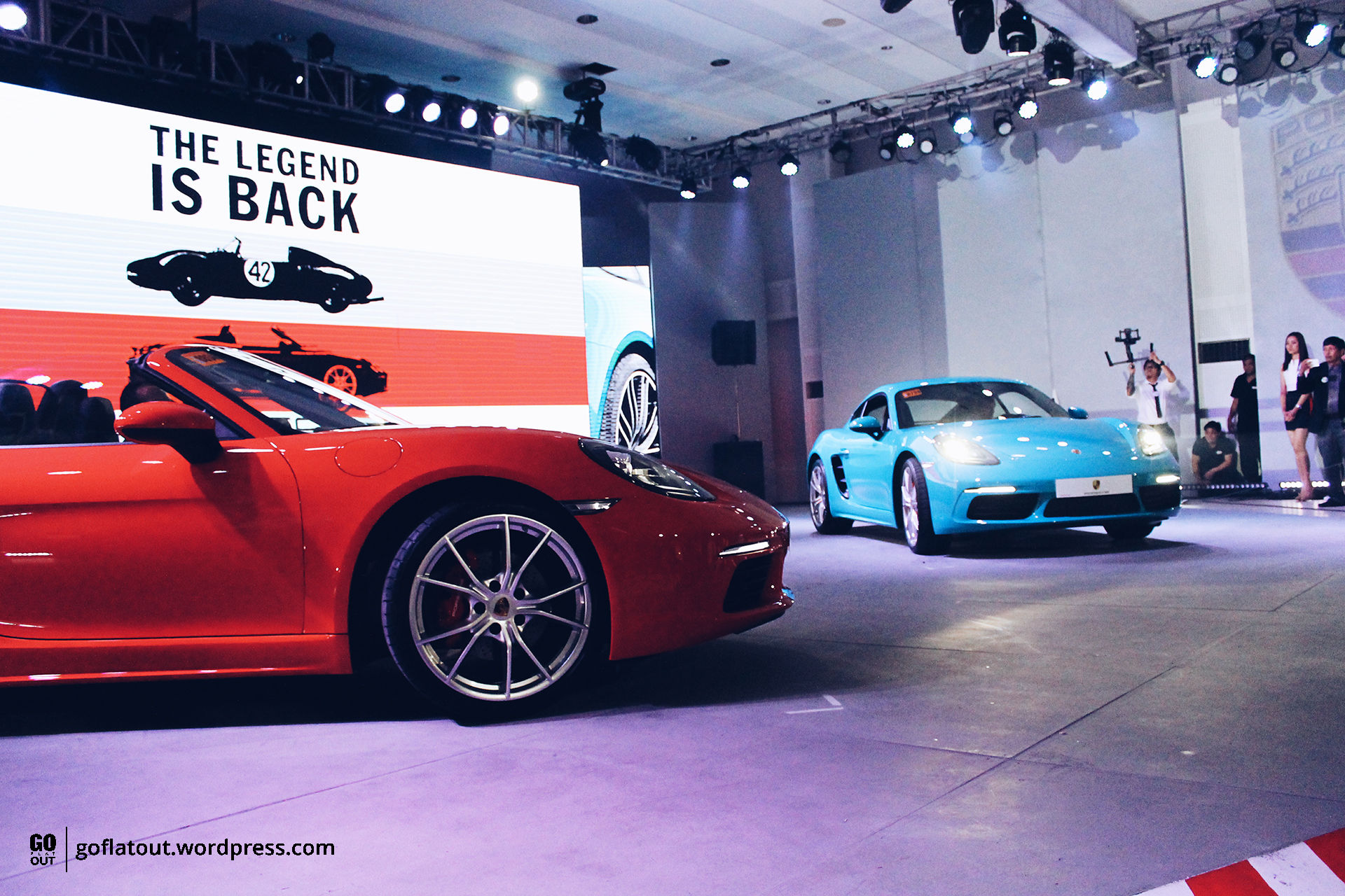 Porsche Philippines Unveils Refreshed Boxster And Cayman Assigns It The 718 Number Go Flat Out Ph